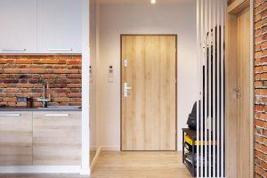 Agat płaskie buk piaskowy drzwi do domów i mieszkań