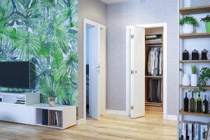 Beta - biały drzwi wewnętrzne