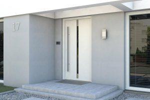 Eco Polar Passive A.5 biały drzwi do domów i mieszkań