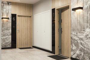 Extreme RC 3 płaskie dąb piaskowy drzwi do domów i mieszkań