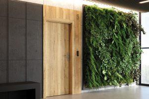 Innovo 42 dB płaskie halifax naturalny drzwi do domów i mieszkań