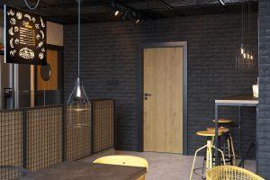 Porta CPL 1.1 dąb naturalny drzwi wewnętrzne