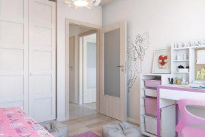Porta Decor D orzech bielony drzwi wewnętrzne