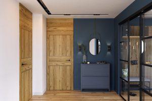 Porta Level C.2 dąb catania drzwi wewnętrzne