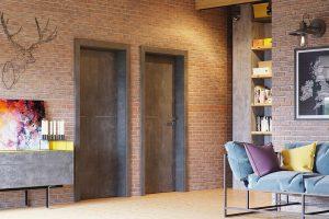 Porta Line G.1 beton ciemny drzwi wewnętrzne