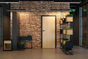 Porta Loft 1.1 buk skandynawski drzwi wewnętrzne