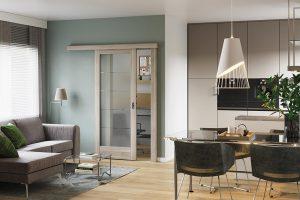 Porta Verte Home B.5 akacja srebrna drzwi wewnętrzne