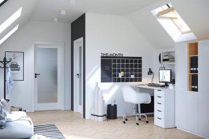 Porta Verte Home B.5 wenge white drzwi wewnętrzne