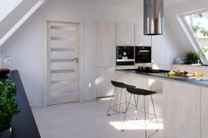 Porta Verte Home D.7 dąb skandynawski drzwi wewnętrzne