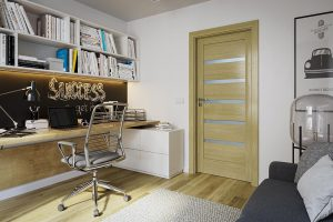 Porta Verte Home H.5 dąb naturalny drzwi wewnętrzne