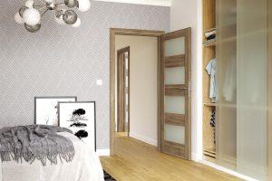 Porta Verte Home L.4 akacja miodowa drzwi wewnętrzne