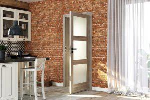 Porta Verte Home N.3 akacja srebrna drzwi wewnętrzne