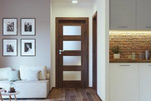 Porta Verte Premium A.4 dąb szkarłatny drzwi wewnętrzne