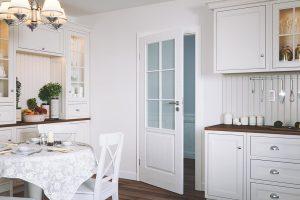 Wiedeń B biały drzwi wewnętrzne