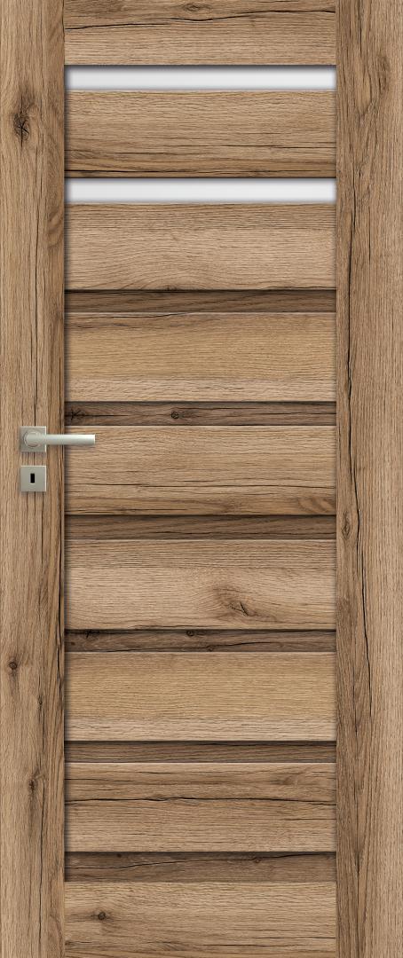 Drzwi TULLA W02S2 dąb halif