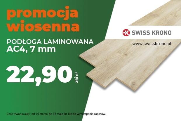 postaw na panel laminowany – podłoga Swiss Krono w nowej, niższej cenie!