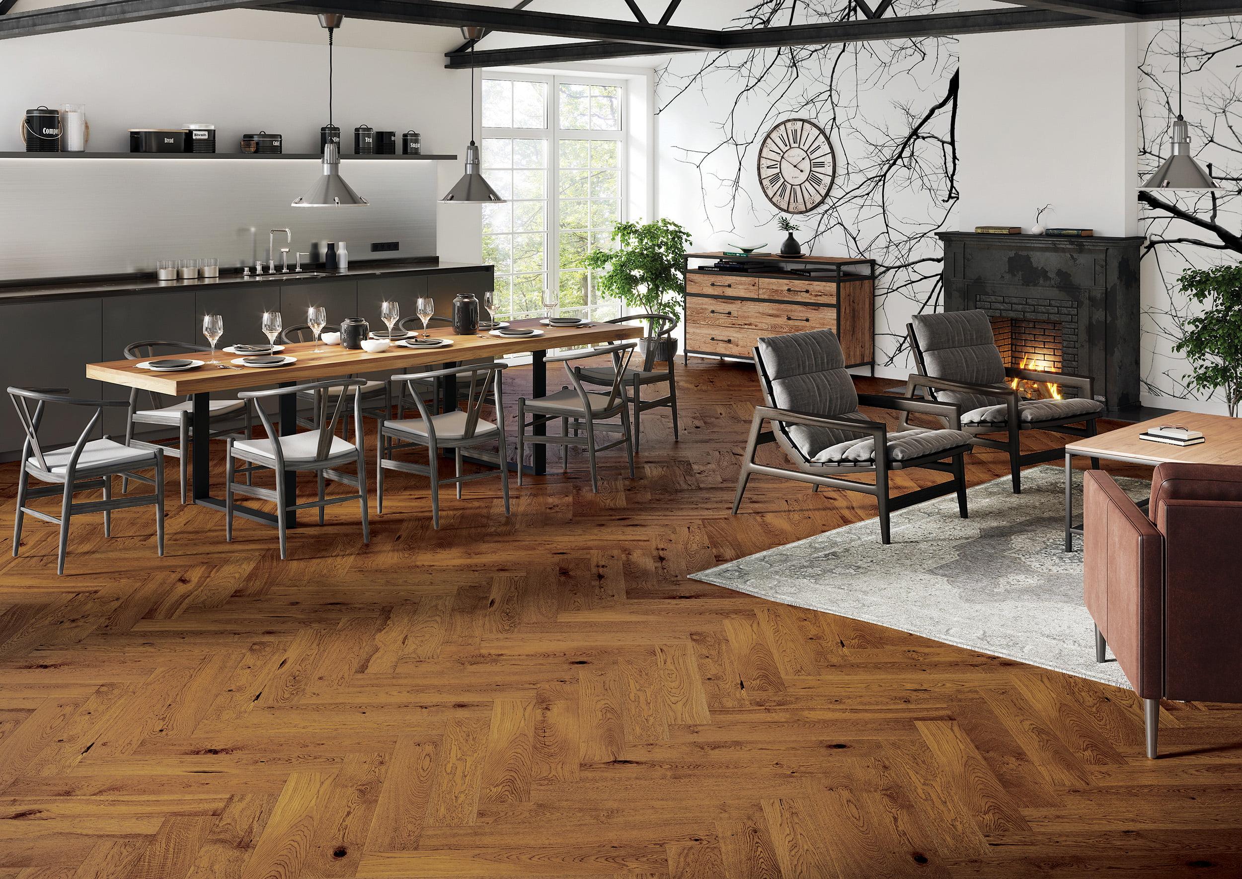 Jodła na podłodze – czyli jak urządzić mieszkanie w stylu vintage?