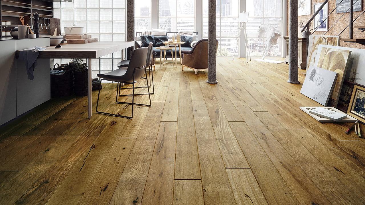 Czym sugerować się podczas wybierania drewnianej podłogi?