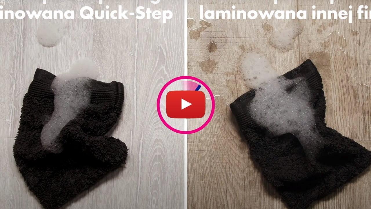 Wodoodporne podłogi laminowane Quick Step