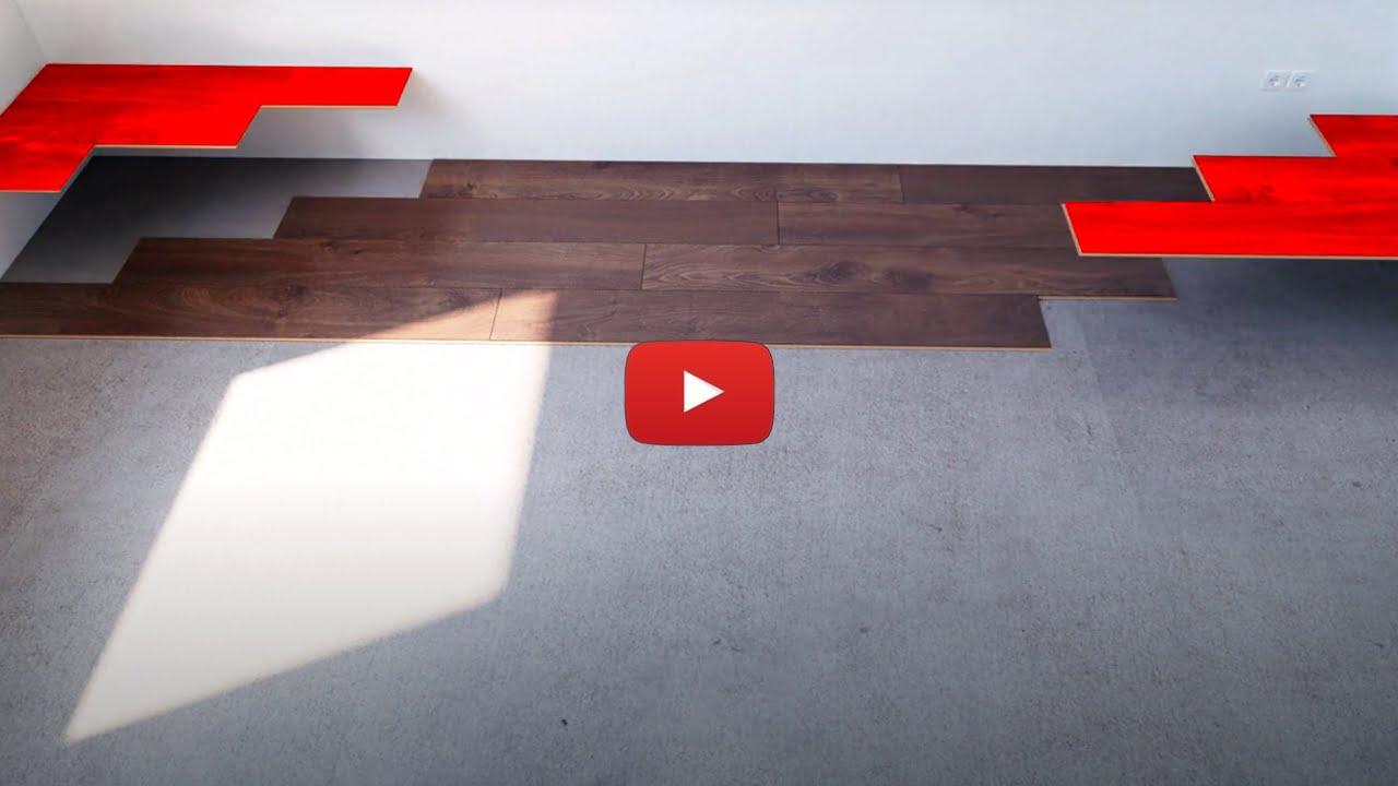 Układanie paneli podłogowych z zamkiem AQUA PERL od SWISS KRONO