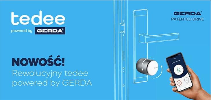 Smartlock tedee powered by GERDA