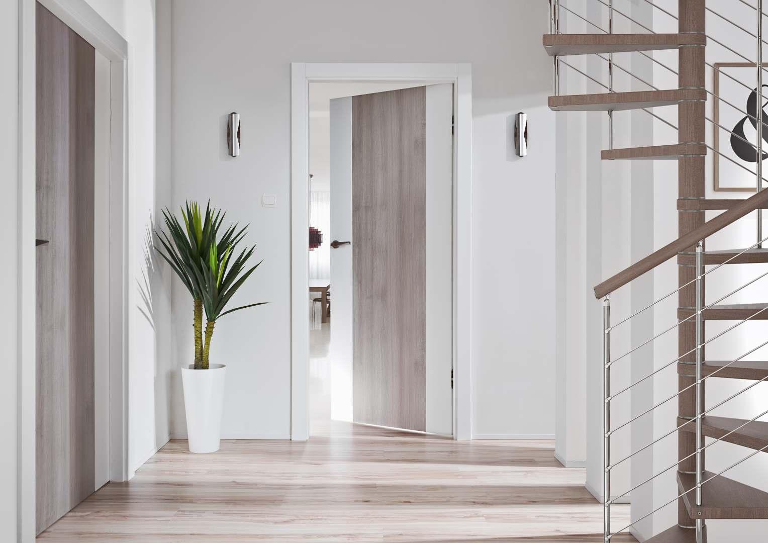 Drzwi wewnętrzne vasco Braga Duo aranżacje